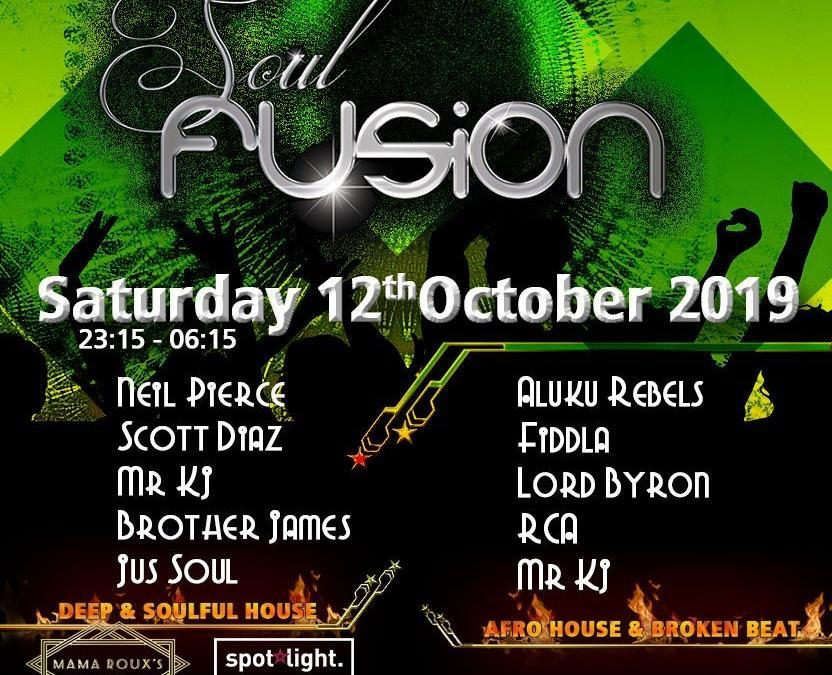 Soul Fusion 12th October 2019
